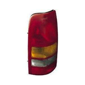 99 02 CHEVY CHEVROLET SILVERADO PICKUP TAIL LIGHT LH (DRIVER SIDE