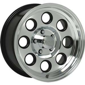 Black Rock Yuma 16x8 Machined Wheel / Rim 8x6.5 with a 0mm Offset and