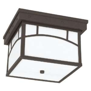 Sea Gull Outdoor 78230 Ceiling Light   7H in. Cottage