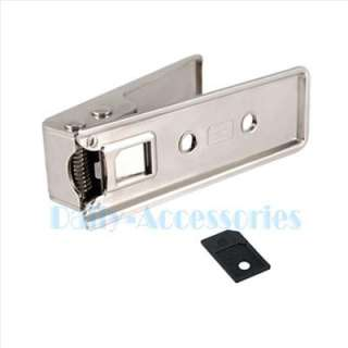 Micro Sim Card Cutter w/ 4 Sim Adapter for iPhone 4 G OS