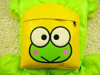 Removable CARTOON Prince Frog BAG Dog Clothes Jumpsuit XXS,XS,S,M,L
