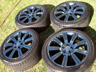 20 RANGE ROVER SPORT SUPERCHARGED STORMER WHEELS FACTORY OEM TIRES