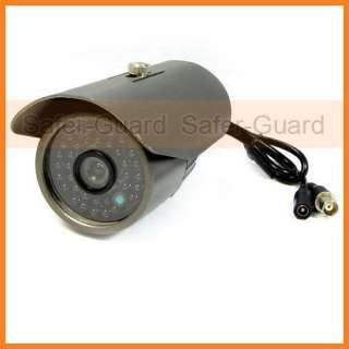 600TVL All Weather Outdoor Sony CCD Color Camera 30m IR