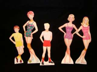 VINTAGE I LOVE LUCY LUCILLE BALL WHITMAN PAPER DOLL DOLLS SET LITTLE