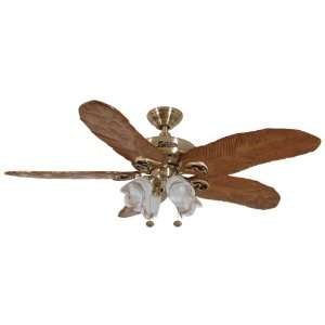 John Marshall Ducks Unlimited® Ceiling Fan with Hand Carved Feather