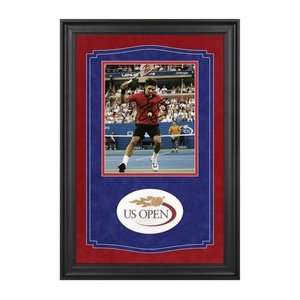 Roger Federer Signed US Open Sports Collectibles