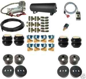 78 87 GM G Body Air Ride Suspension Kit