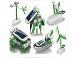 in 1 Solar Educational Kit Robotikits DIY Toy NEW