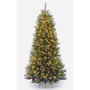 7 1/2 Rocky Ridge Slim Pine Hinged Christmas Tree; 600