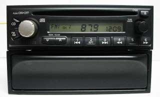 Nissan Altima 2000 2001 single CD player radio CY028 w/Tray door