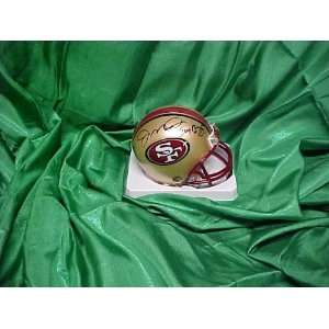 Joe Montana & Jerry Rice Hand Signed Autographed San