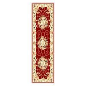 Safavieh Lyndhurst Collection LNH328C Red and Ivory Area