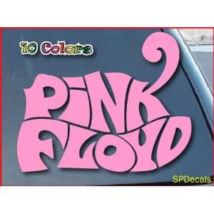 Pink Floyd Car Window Vinyl Decal Sticker 6 Wide (Color Pink