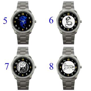 Tiger Dragon Yin Yang Pa Kua Zodiac 12 Animal Ox Rabbit Watch