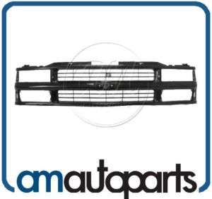 Pickup Truck Suburban Tahoe Blazer Front End Black Grille Grill