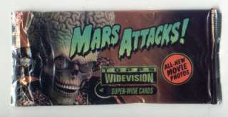 MARS ATTACKS COLLECTOR CARDS TOPPS 1996   5 PACKS