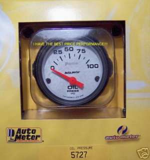 AUTOMETER PHANTOM ELECTRIC OIL PRESSURE GAUGE 5727