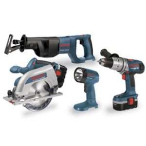 Factory Reconditioned Bosch CPK40 18 RT 18 Volt Ni Cad Cordless 4 Tool