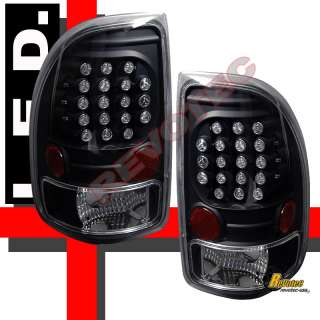 DODGE DAKOTA LED TAIL LIGHTS BLACK R/T SXT SLT