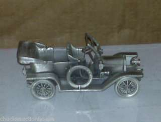 DANBURY MINT DIE CAST PEWTER 1909 CADILLAC 30 TOURER