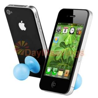 Blue Ball Stand Holder+Butterfly Case+Film+Stylus for Verizon ATT