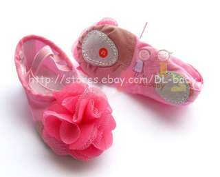 Kids Children Girls Flower Canvas Ballet Dancing Fitness Shoes Slipper