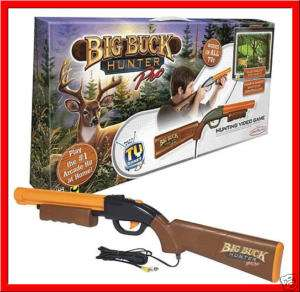 BIG BUCK HUNTER PRO Hunting TV Game   GUN Rifle *NEW*