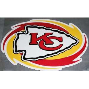 com KANSAS CITY CHIEFS NFL Car Sport Magnet Bright Colors Big New 12