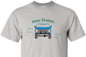 Early Ford Bronco DUSY ERSHIM Trail BEEN THERE DONE THAT Digital Print