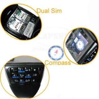 Unlocked Touch Screen Watch Mobile Phone Dual Card ET 3