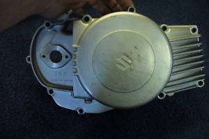suzuki stinger t125 engine clutch oil pump cover #00085