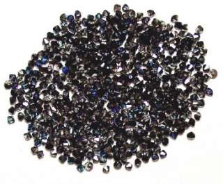 50 Australian Crystal Tabac 4 mm Bicone Blue,Black,Purple,Gray Hues