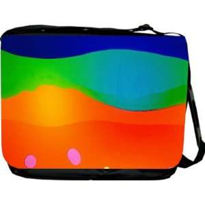 Rikki KnightTM Lava Flow Design Messenger Bag   Book Bag