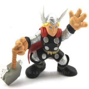 MARVEL SUPER HERO SQUAD THOR ACTION FIGURE RARE FW41