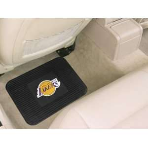 Los Angeles Lakers Heavy Duty Vinyl Rear Seat Car Utility Mat Sports