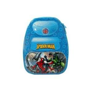 Amazing Spider Man Blue Backpack Shaped Tin Storage Box Toys & Games