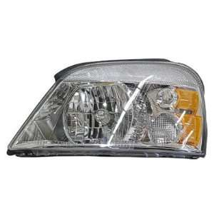 2004 07 FORD FREESTAR HEADLIGHT ASSEMBLY, DRIVER SIDE   DOT Certified