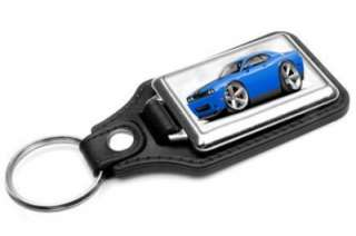 2010 12 Dodge Challenger SRT8 Muscle Car toon Keychain NEW