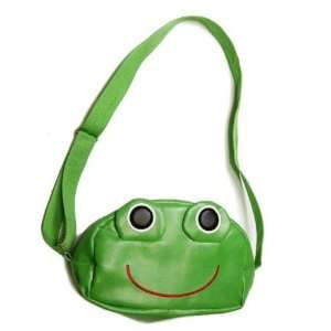 Linda Linda Green Frog Kids Bag, Little Kid Handbag