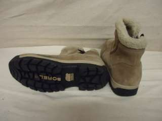 SOREL Waterfall Low Womens Tan Winter Snow Boots Shoes Size 11 US