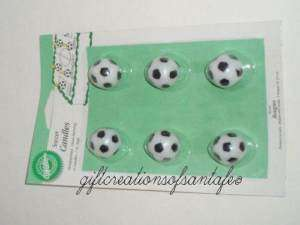 Wilton Soccer Ball Cake Candles Sports Birthday Party