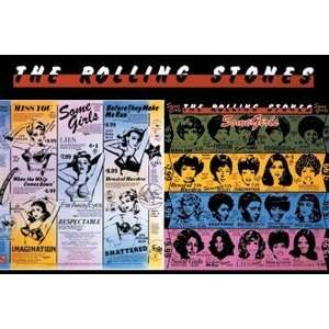 The Rolling Stones Some Girls Set of 2 Magnets ** Sports