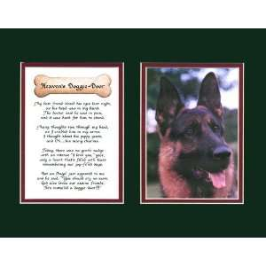 Heavens Doggie Door Male Dog Memorial Wall Decor Poem Pet