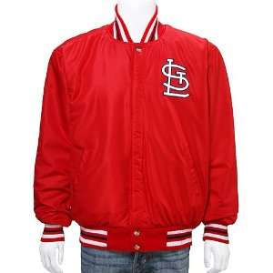 St. Louis Cardinals Reversible Wool & Leather/Nylon Jacket Sports