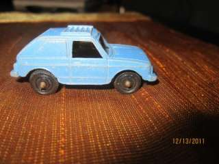 TOOTSIE TOY DIECAST 2 DOOR VW RABBIT #1 TOOTSIETOY USA SKY BLUE