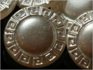 24 CZECH VINTAGE ART NOUVEAU FANCY GLASS BUTTONS 20s