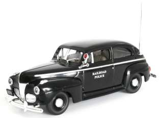 Railroad Police 1941 Ford Two Door Sedan FIRST RESPONSE