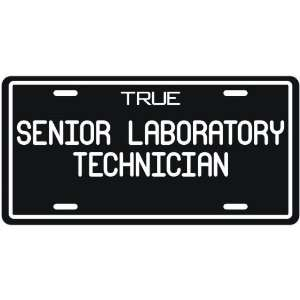 New  True Senior Laboratory Technician  License Plate
