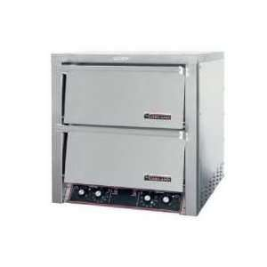 ED 24H Countertop Electric Pizza Oven Double Deck