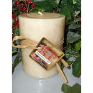 Angel Food Cake Bakery Scented Round Pillar Candle 16 Oz